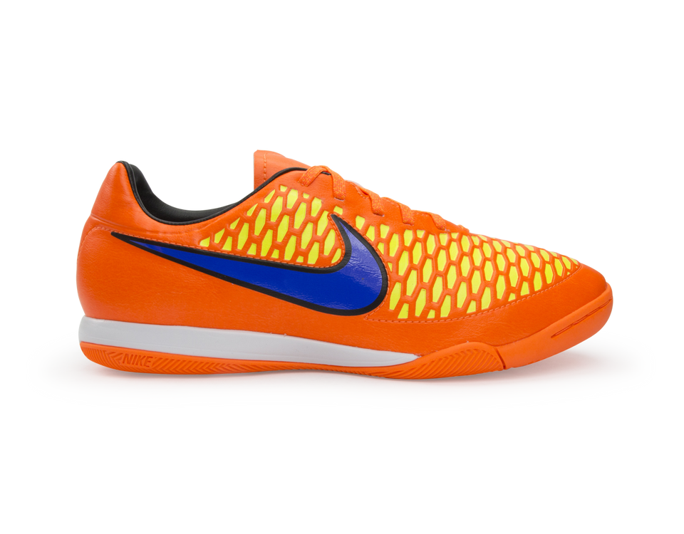 Nike Men's Magista Onda Indoor Soccer Shoes Total Orange/Laser Orange/Hyper Punch