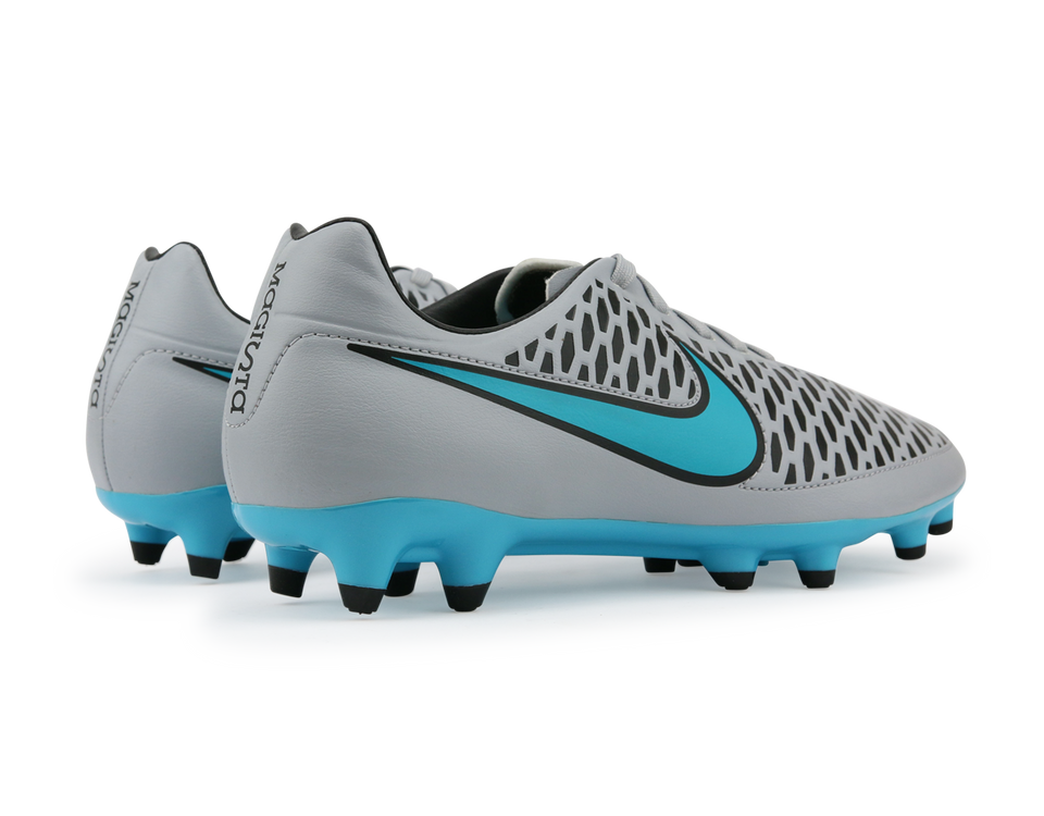 Nike Men's Magista Onda FG Wolf Grey/Black/Turquoise Blue