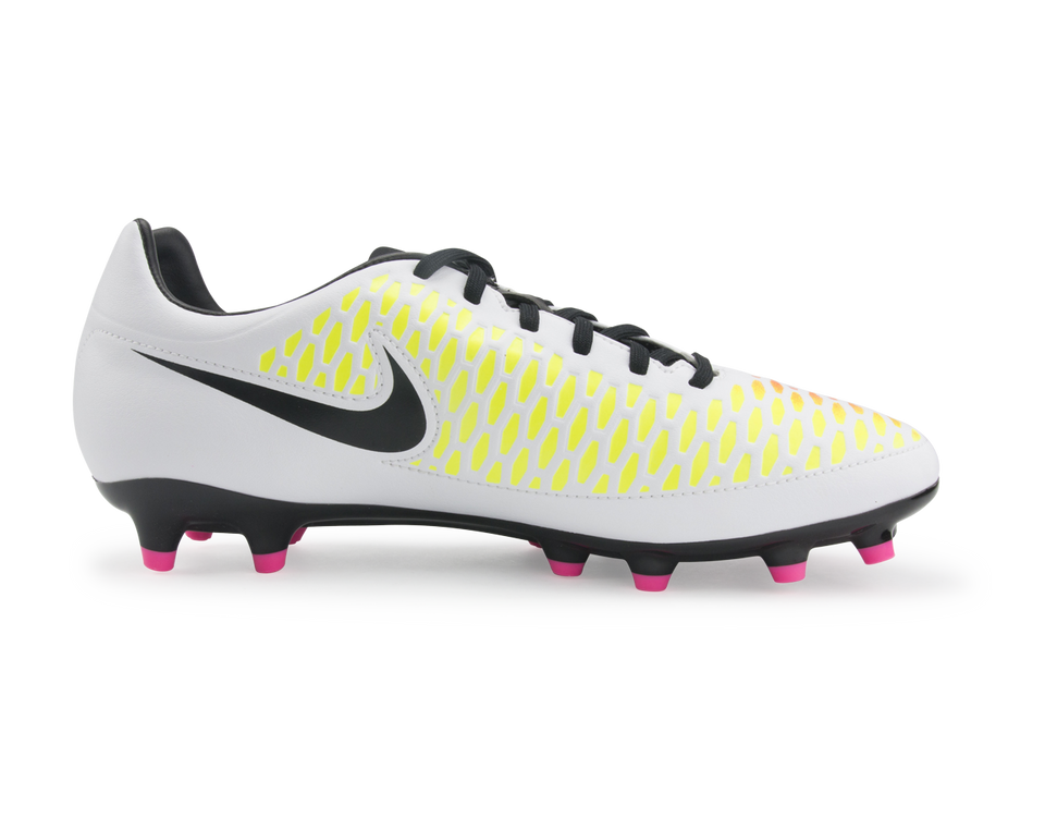 Nike Men's Magista Onda FG White/Black/Pink Blast