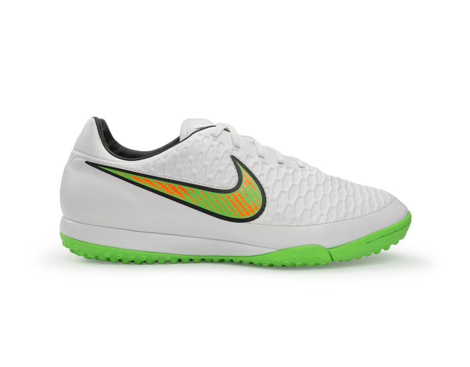 Nike Men's Magista Onda Turf Soccer Shoes White/Poison Green/Black