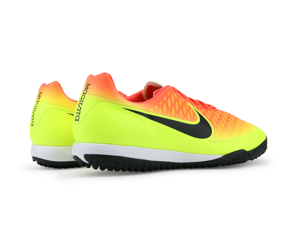 Nike Men's Magista Onda Turf Soccer Shoes Total Crimson/Black Volt/Bright Citrus