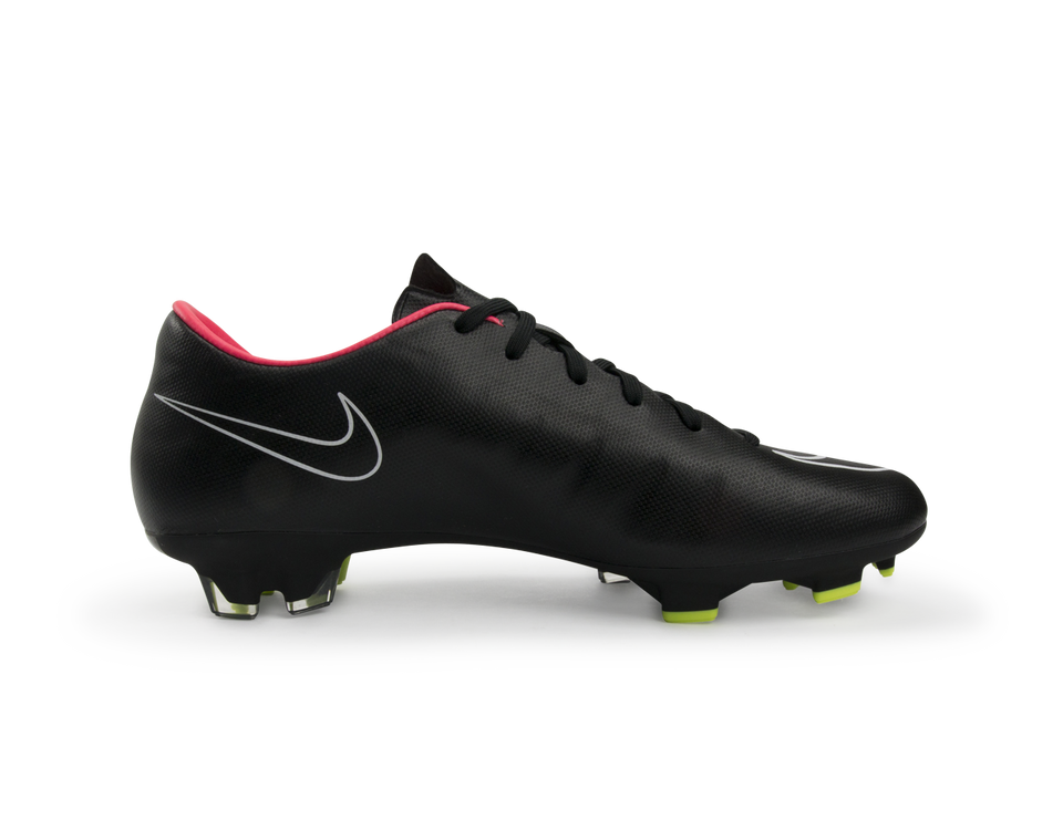 Nike Men's Mercurial Victory II FG Black/Hyper Punch/White