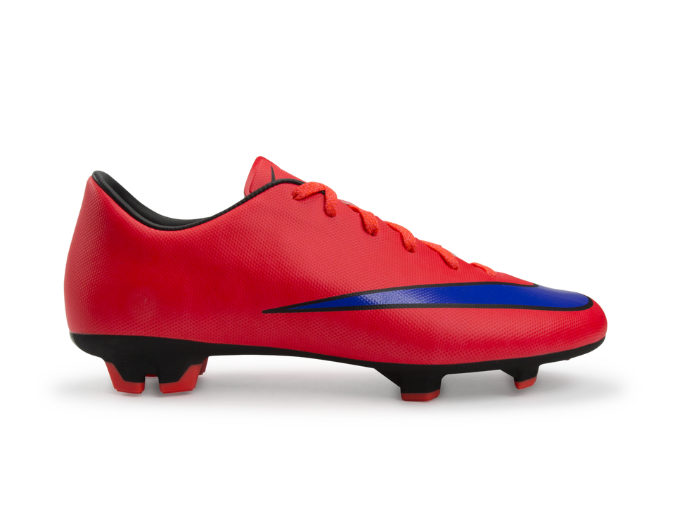 Nike Men's Mercurial Victory V FG Bright Crimson/Violet/Black