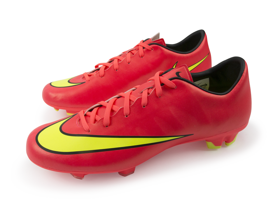 Nike Men's Mercurial Victory V FG Hyper Punch/Metallic Gold/Black
