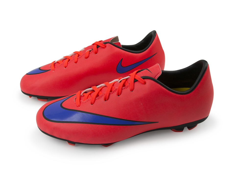Nike Kids Mercurial Victory V FG Bright Crimson/Violet/Black