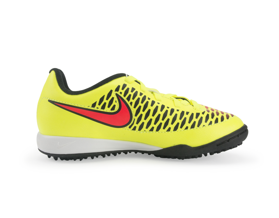 Nike Kids Magista Onda Turf Soccer Shoes Volt/Black/Hyper Punch