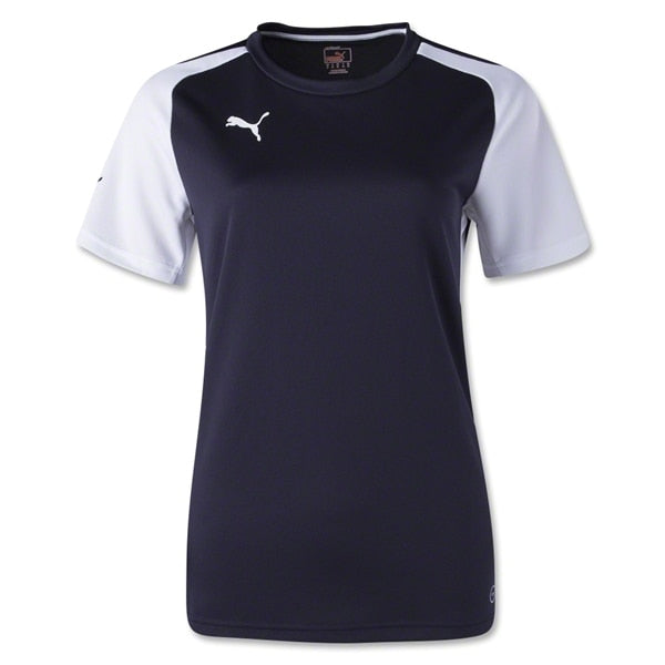 PUMA Women's Speed Jersey New Navy/White