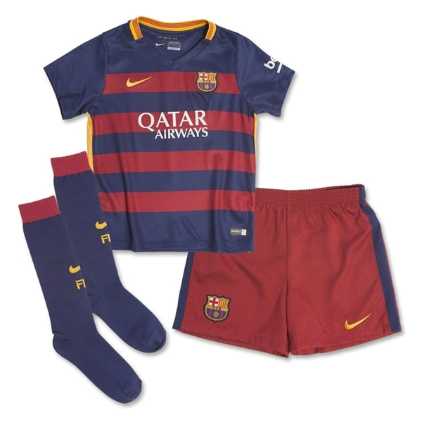 Nike Infant FC Barcelona 15/16 Home Kit Loyal Blue/Storm Red/University Gold