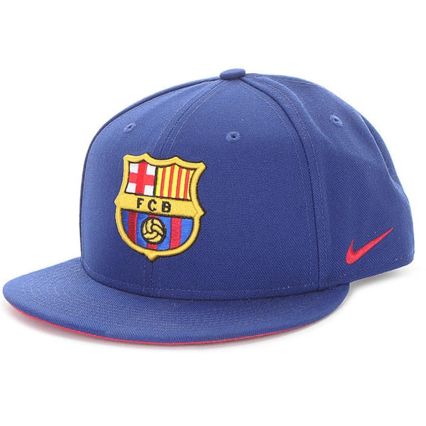 Nike Men's FC Barcelona True Cap Deep Royal/Noble Red