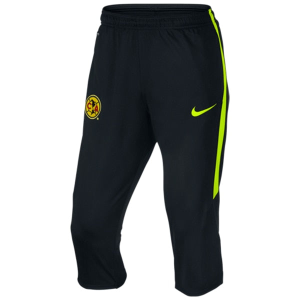 Nike Men's 15/16 Club America 3/4 Training Pants Black/Volt