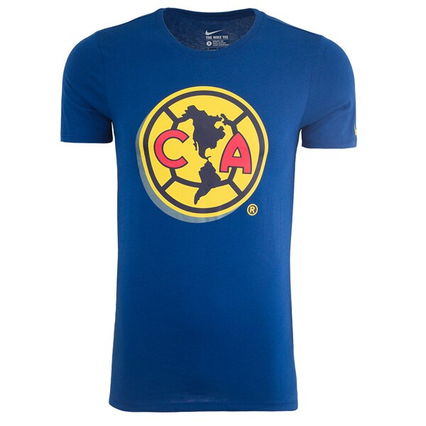 Nike Men's Club America Crest Tee Gym Blue