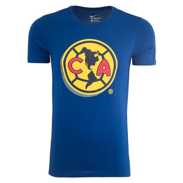 Nike Club America Crest Tee Gym Blue