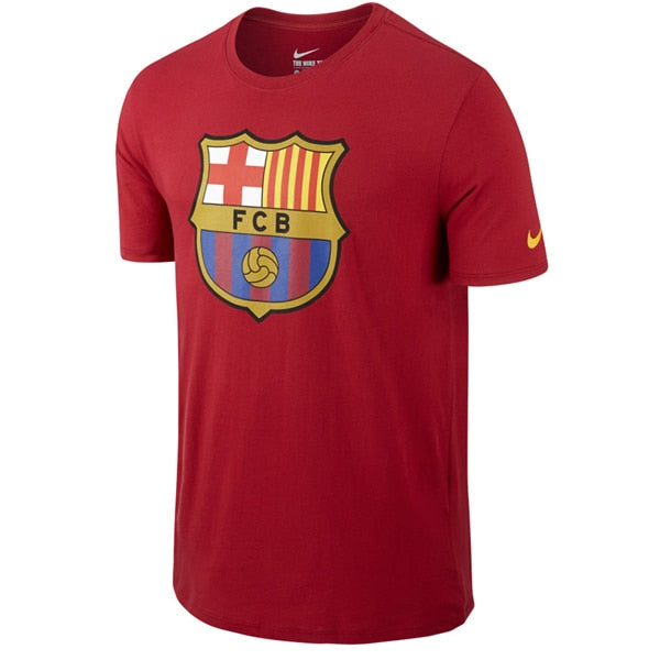 Nike Men's FC Barcelona Tee Storm Red