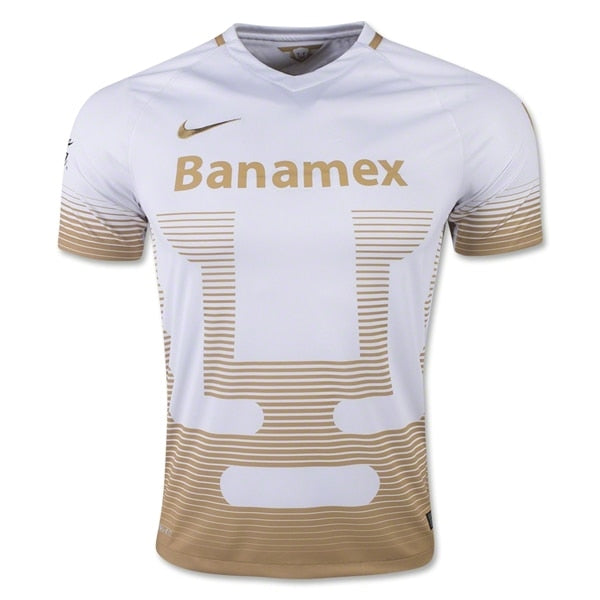 Nike Men's Puma's UNAM 16/17 Home Jersey Football White/Club Gold