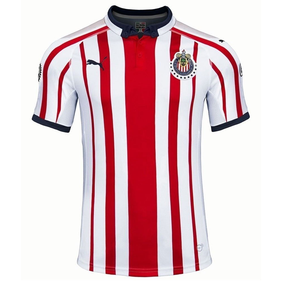 PUMA Men's Chivas 18/19 Home Jersey Red/White