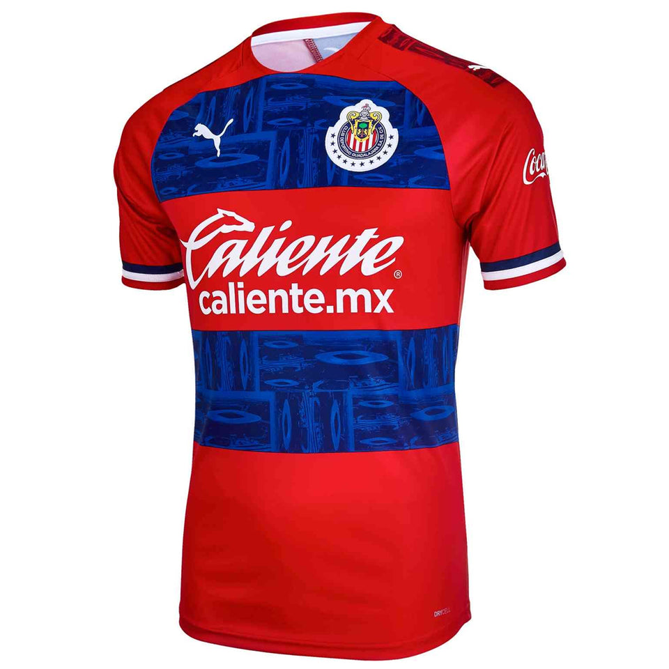 PUMA Men's Chivas de Guadalajara 19/20 Away Jersey Red