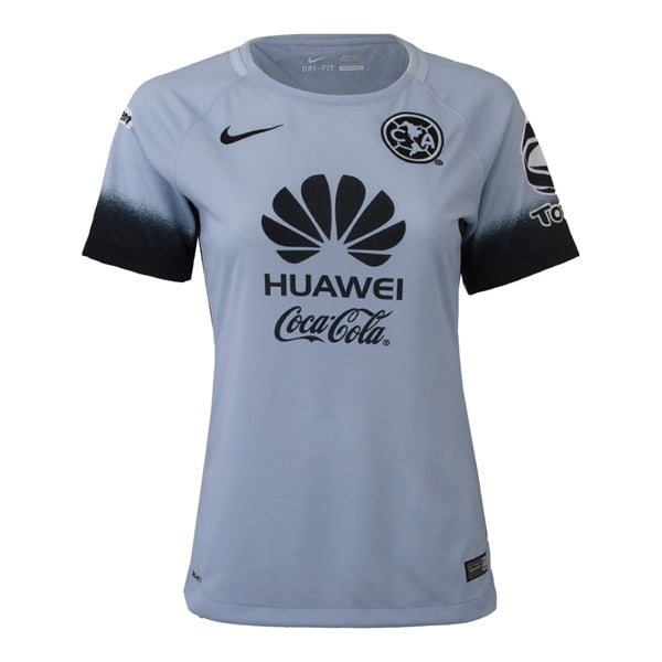 Nike Women's Club America 15/16 Third Jersey Porpoise/Black