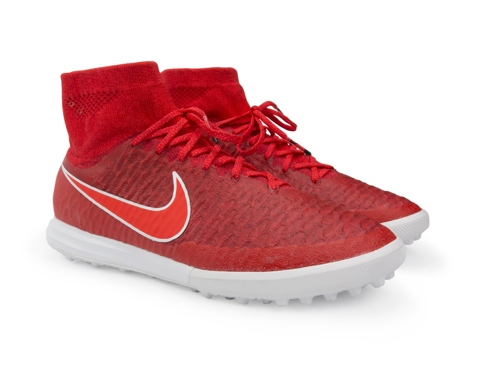 Nike Men's MagistaX Proximo Turf Soccer Shoes Challenge Red/Bright Crimson/White