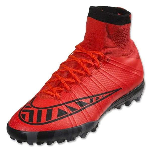 Nike Men's MercurialX Proximo Turf Soccer Shoes Bright Crimson/Black/Bright Crimson
