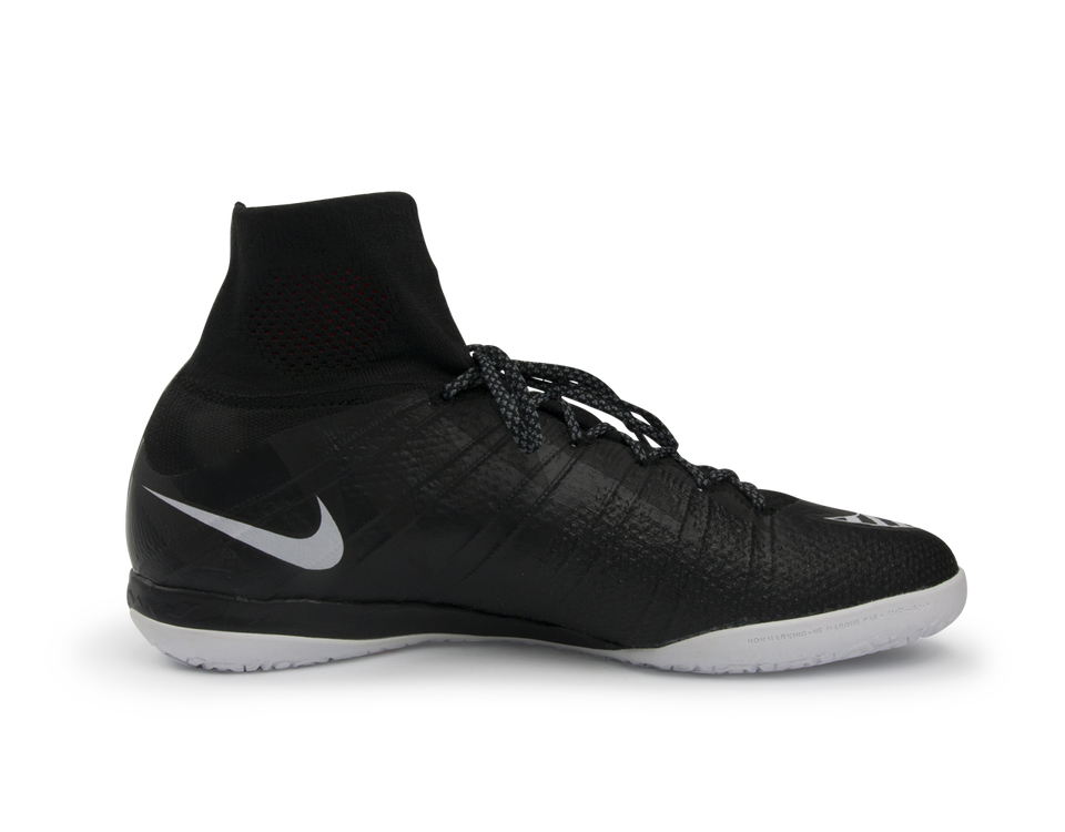 Nike Men's MercurialX Proximo Street Indoor Soccer Shoes Black/White/Hot Lava/Anthrct