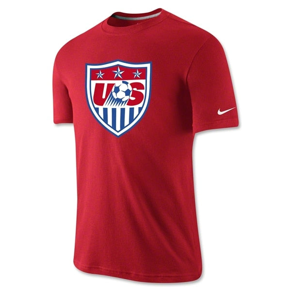 Nike Men's USA Core Crest Tee University Red