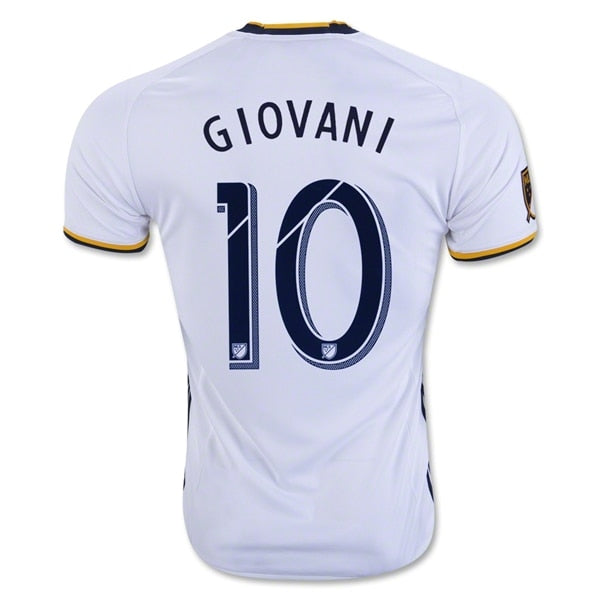 adidas Men's LA Galaxy 16/17 Giovanni Home Jersey White