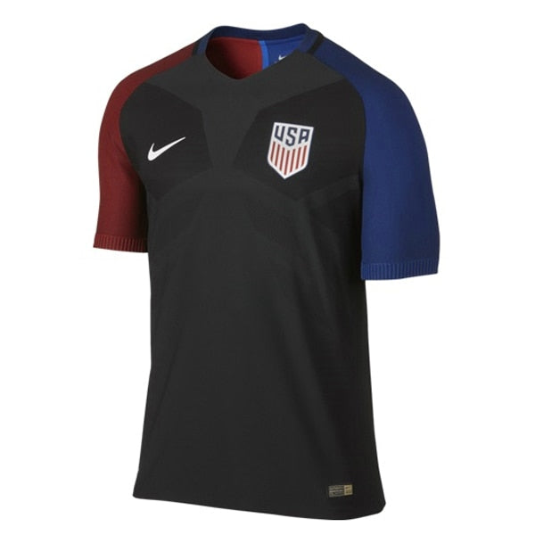 Nike Men's USA 16/17 Away Official Match Jersey Black/White