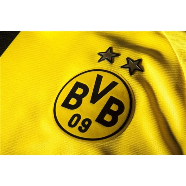 PUMA Men's Borussia Dortmund 14/15 Home Jersey Yellow