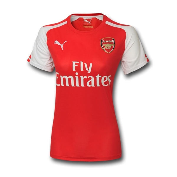 PUMA Women's Arsenal 14/15 Home Jersey High Risk Red/White
