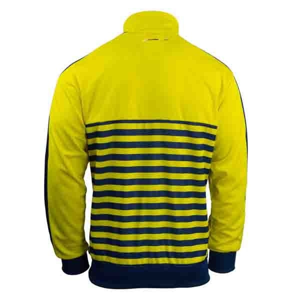 PUMA Men's Arsenal T7 Anthem Jacket Empire Yellow/Estate Blue