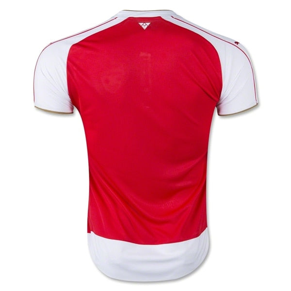 PUMA Men's Arsenal FC 15/16 Home Jersey High Risk Red/White