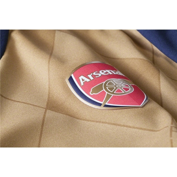 PUMA Men's Arsenal FC 15/16 Away Jersey Black Iris/Victory Gold