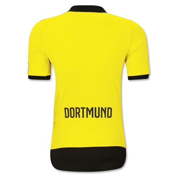 PUMA Men's Borussia Dortmund 15/16 Home Jersey  Yellow