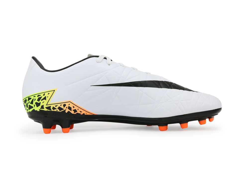 Nike Men's Hypervenom Phelon FG White/Black/Orange Total