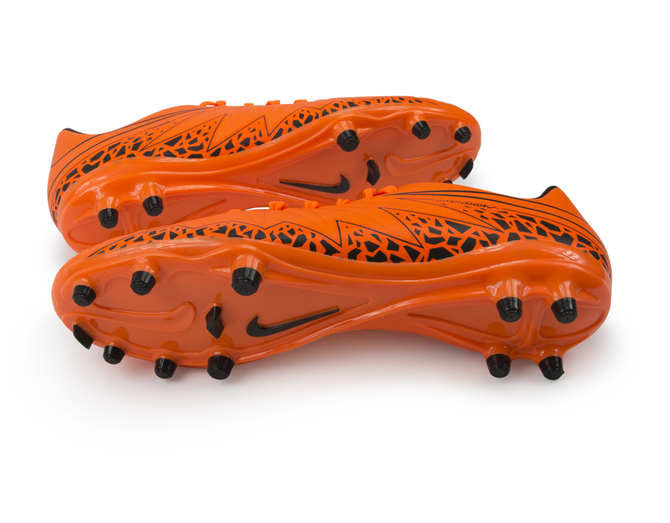 Nike Men's Hypervenom Phelon FG Total Orange/Black/Orange Total Black