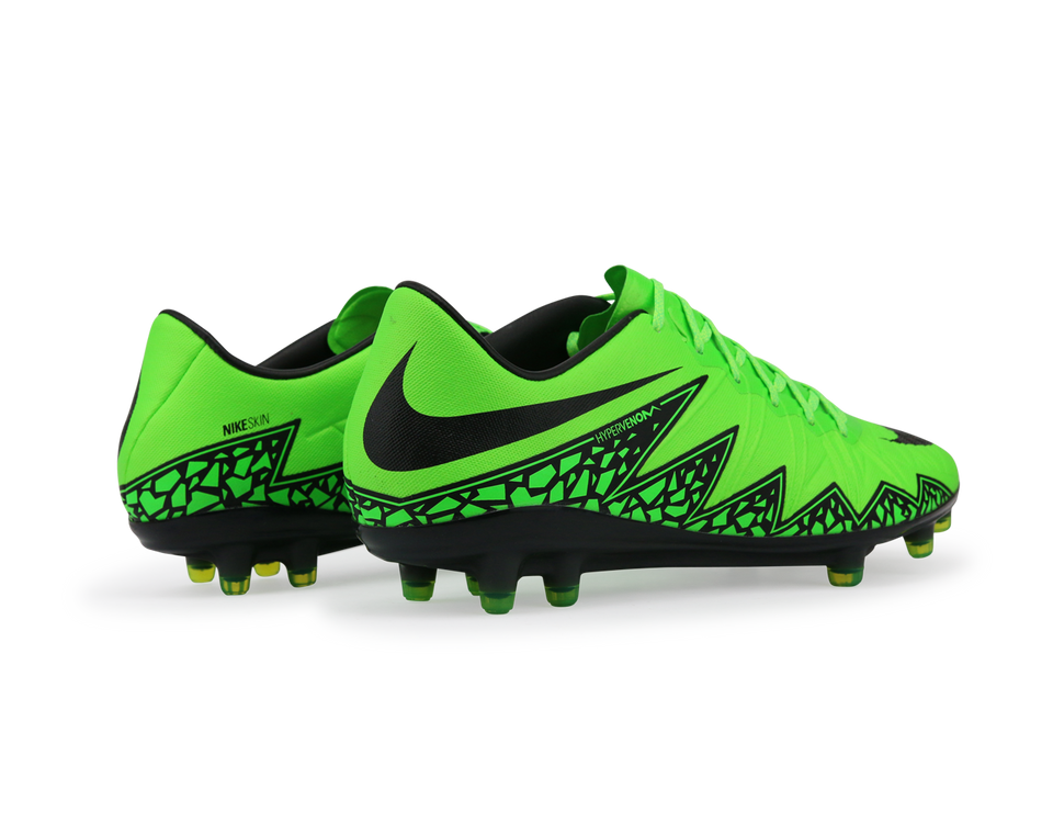 Nike Men's Hypervenom Phinish FG Green Strike/Black/Volt