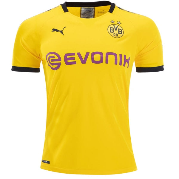 PUMA Men's BVB 19/20 Home Jersey Cyber Yellow/Black