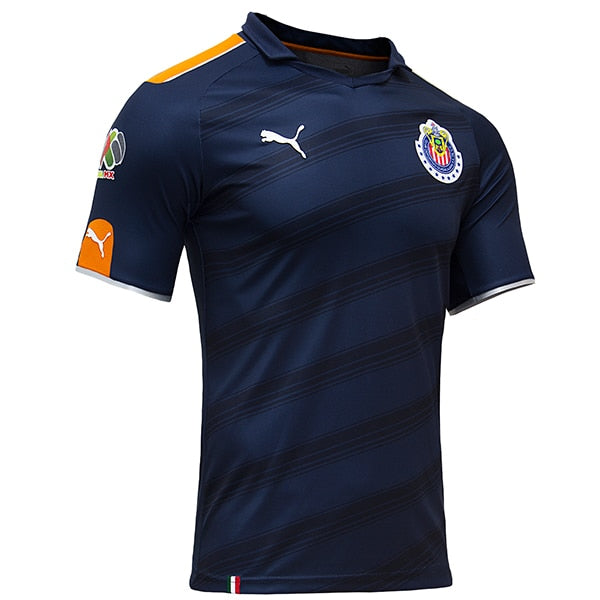 PUMA Kids Chivas 17/18 Alternative Jersey Blue