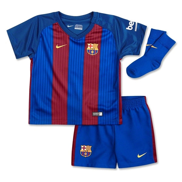 Nike Toddlers FC Barcelona 16/17 Home Kit Sport Royal/Gym Red/University Gold