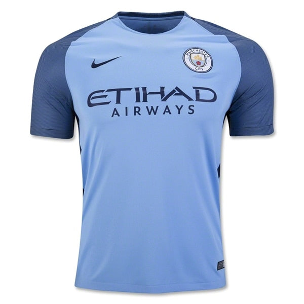 Nike Men's Manchester City 16/17 Home Jersey Field Blue/Midnight Navy