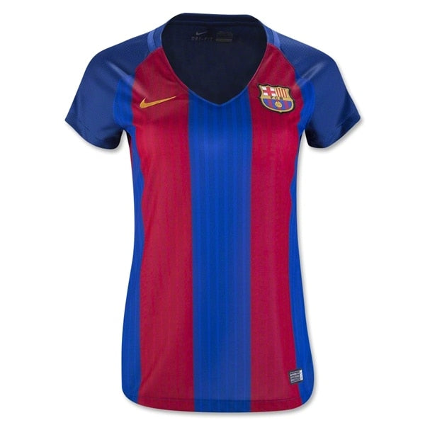 Nike Women's FC Barcelona 16/17 Home Jersey Sport Royal/Gym Red/University Gold
