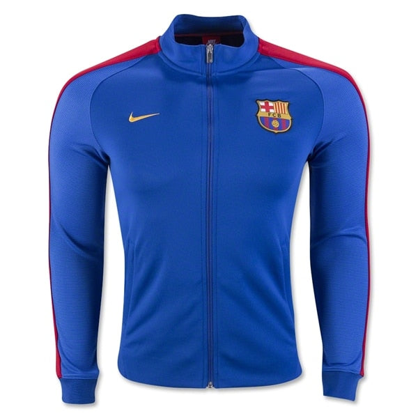Nike Men's FC Barcelona N98 16/17 Track Jacket Sport Royal/Gym Red/University Gold