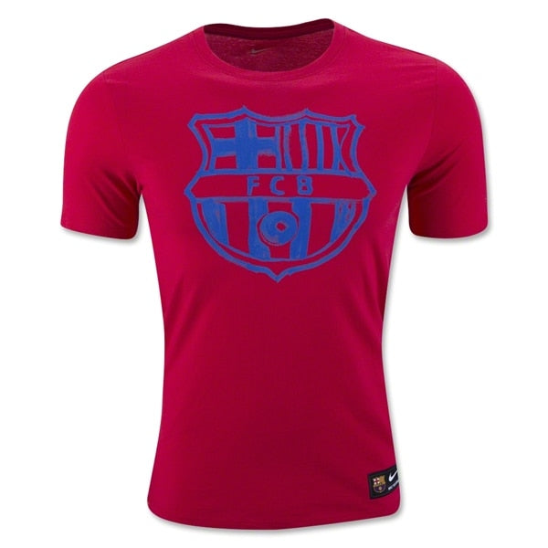 Nike Men's FC Barcelona 16/17 Core Tee Prime Red