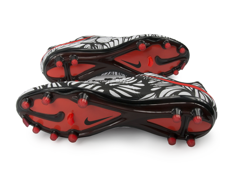 Nike Men's Hypervenom Phinish NJR FG Black/Bright Crimson/White