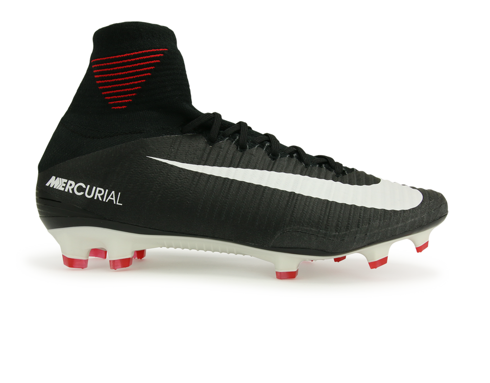 Nike Men's Mercurial Superfly V FG Black/White/Dark Grey