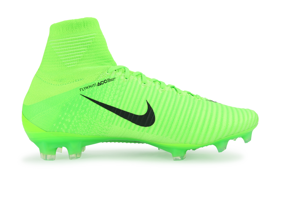 Nike Men's Mercurial Superfly V FG Electric Green/Black/Ghost Green