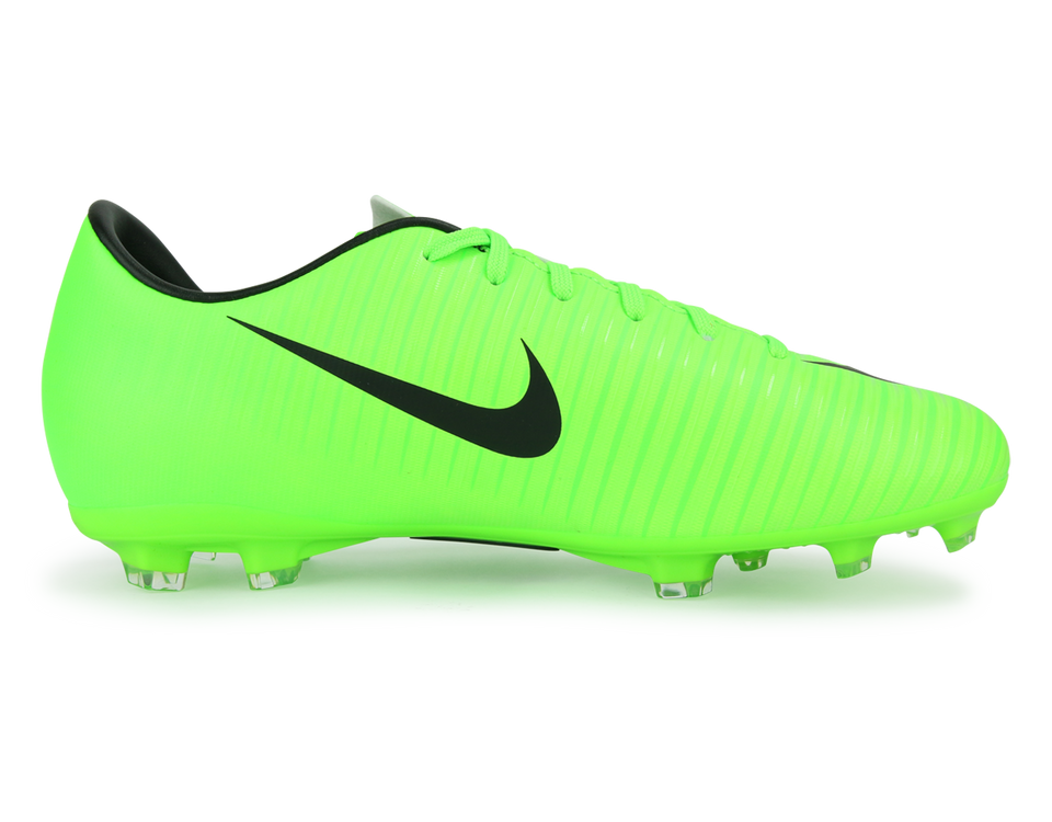 Nike Kids Mercurial Victory VI FG Electric Green/Black/Flash Lime