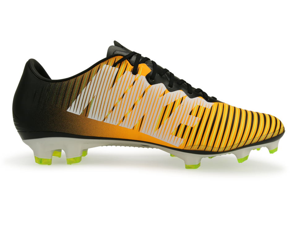 Nike Men's Mercurial Vapor XI FG Laser Orange/Black/White/Volt