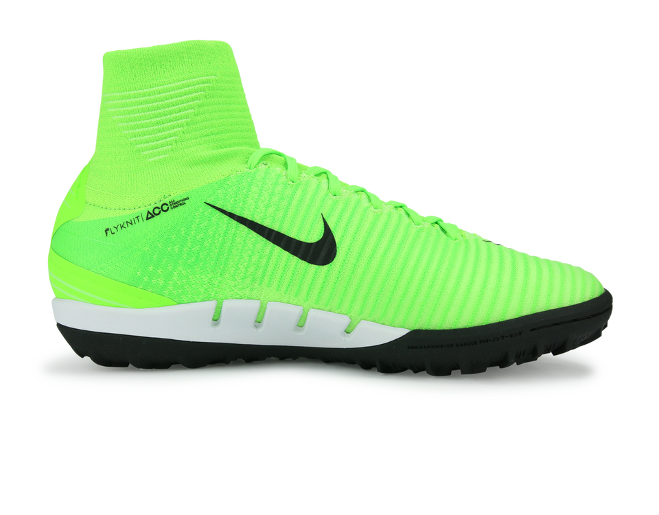 Nike Men's MercurialX Proximo II Dynamic Fit Turf Soccer Shoes Electric Green/Black/Flash Lime