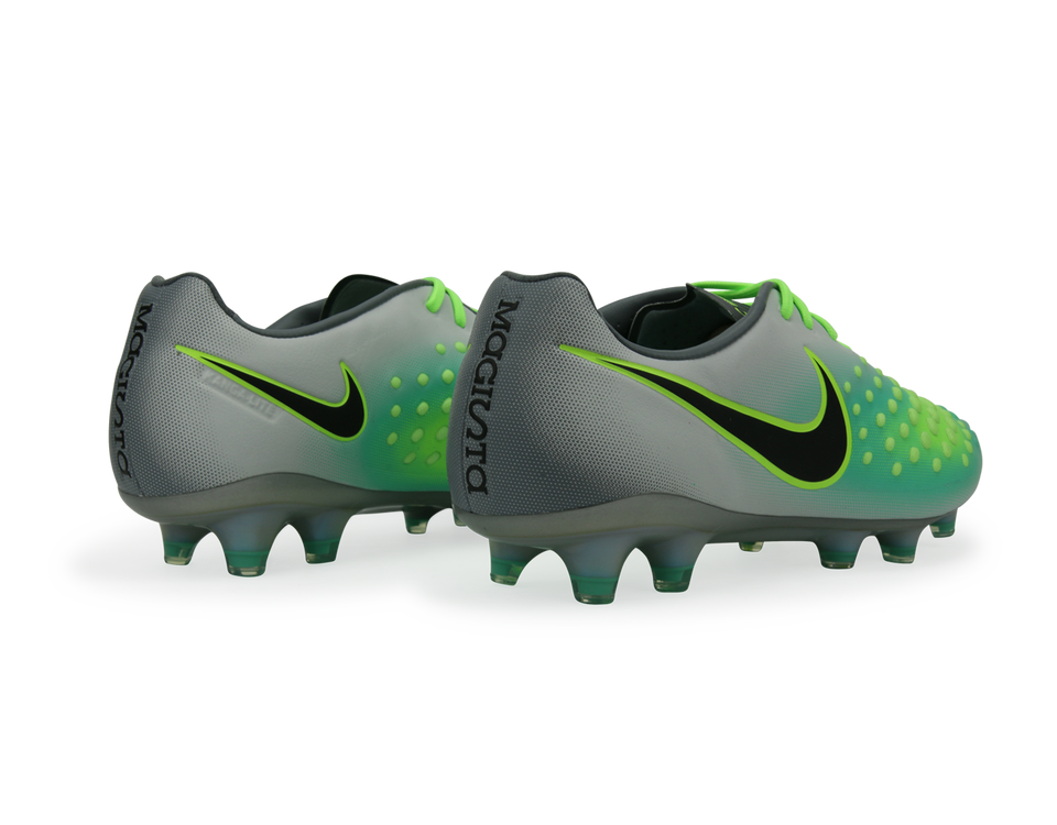 Nike Men's Magista Opus II FG Pure Platinum/Black/Ghost Green